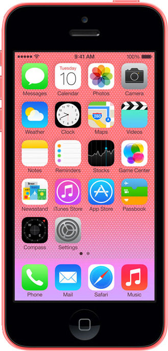 iPhone 5C 8GB Pink (GSM Unlocked)