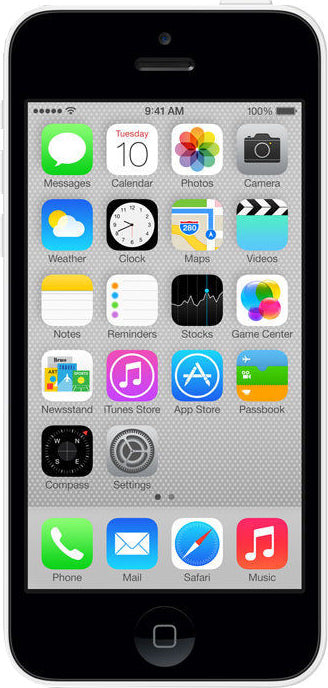 iPhone 5C 8GB White (AT&T)