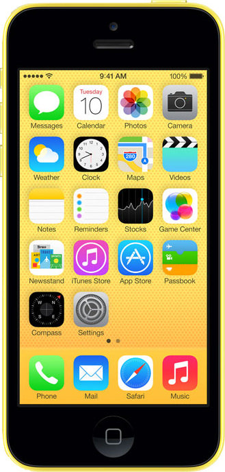 iPhone 5C 8GB Yellow (GSM Unlocked)