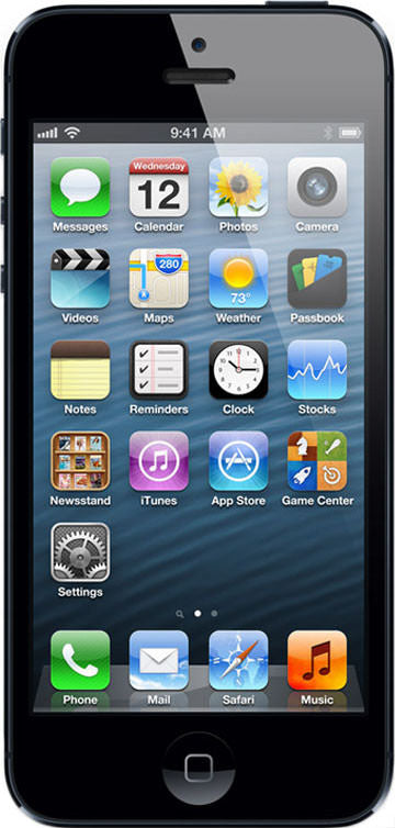 iPhone 5 64GB Black & Slate (GSM Unlocked)