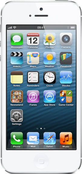 iPhone 5 32GB White & Silver (GSM Unlocked)