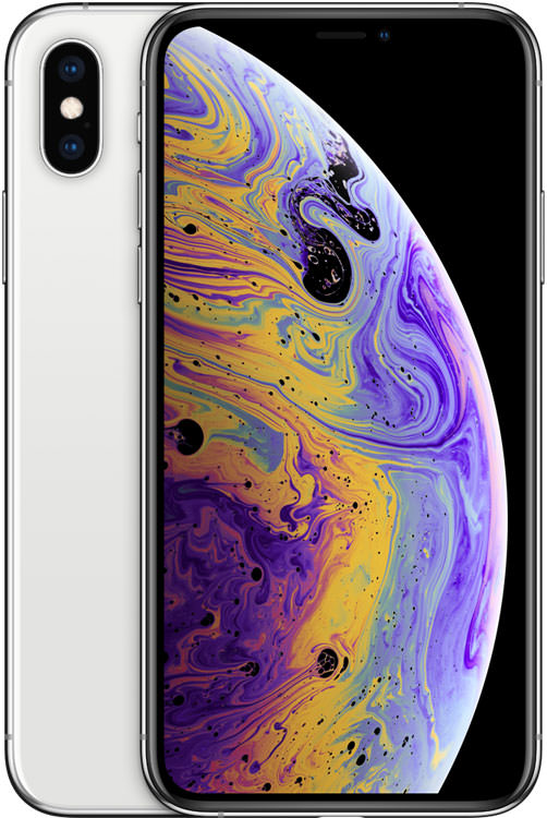 iPhone XS 64GB Silver (GSM Unlocked)