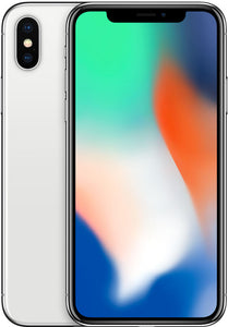 iPhone X 64GB Silver (GSM Unlocked)