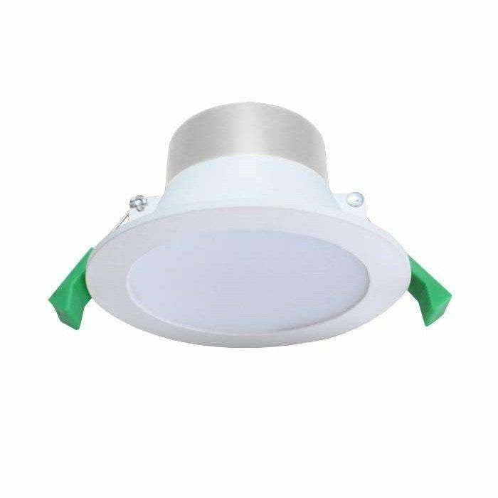 10w Downlight Kit, 90-110mm Cut Out, White or Satin Chrome Silver - Crystal Palace Lighting