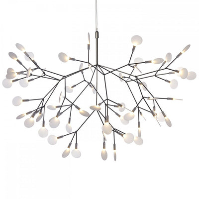 Replica Heracleum Pendant in Black, 2 sizes - crystal-palace-lighting