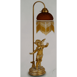 Marchand CUPID STANDING TABLE LAMP - crystal-palace-lighting
