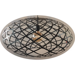 Wembley Pendant with globe - Crystal Palace Lighting