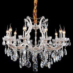 Marchand Emily 10 Light Crystal Chandelier - crystal-palace-lighting