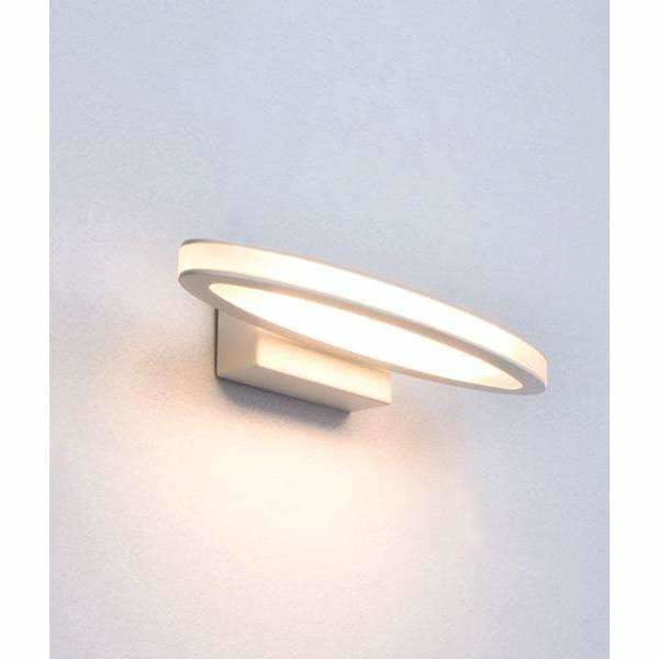 Athens LED Interior Wall Light in White - Crystal Palace Lighting