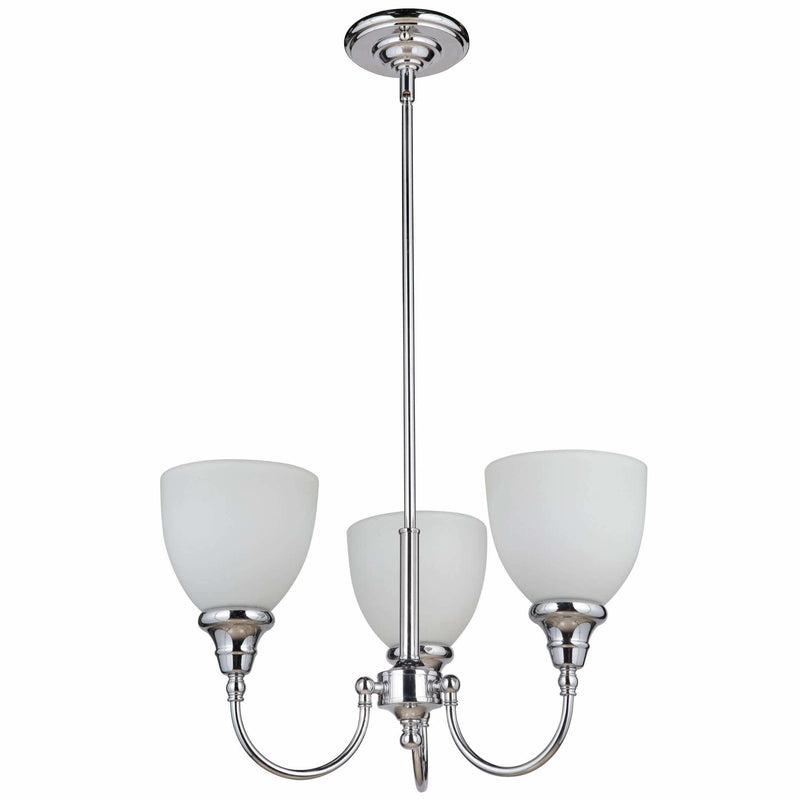 Benson 3 Light Pendant with Rod Set in Chrome Silver, 2 Orientation Options - Crystal Palace Lighting