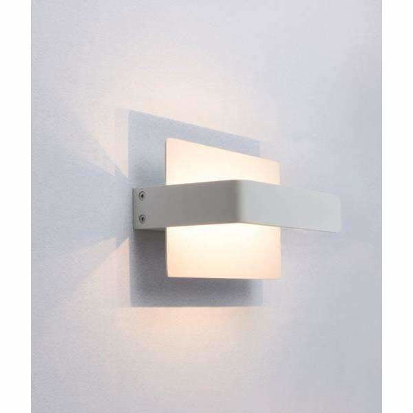 Berlin LED Interior Wall Light in White - crystal-palace-lighting