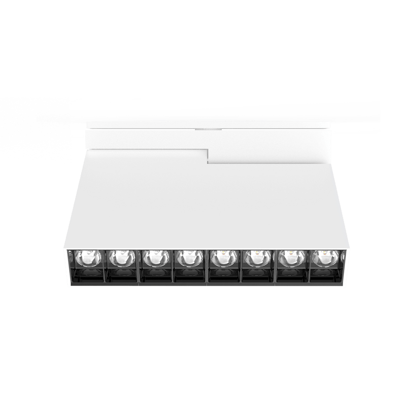 Brightgreen The D900 SHX Linear 16W Surface Mounted LED in Black or White - Crystal Palace Lighting