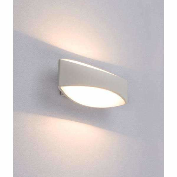 Cannes LED Interior Wall Light in White - Crystal Palace Lighting