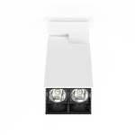 D400 SHX Linear 8W LED Surface Mounted in Black or White - crystal-palace-lighting