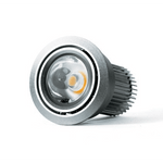 D550 Curve 8.5W LED Downlight in Silver or White - Crystal Palace Lighting