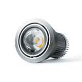 D550 Curve 8.5W LED Downlight in Silver or White - crystal-palace-lighting