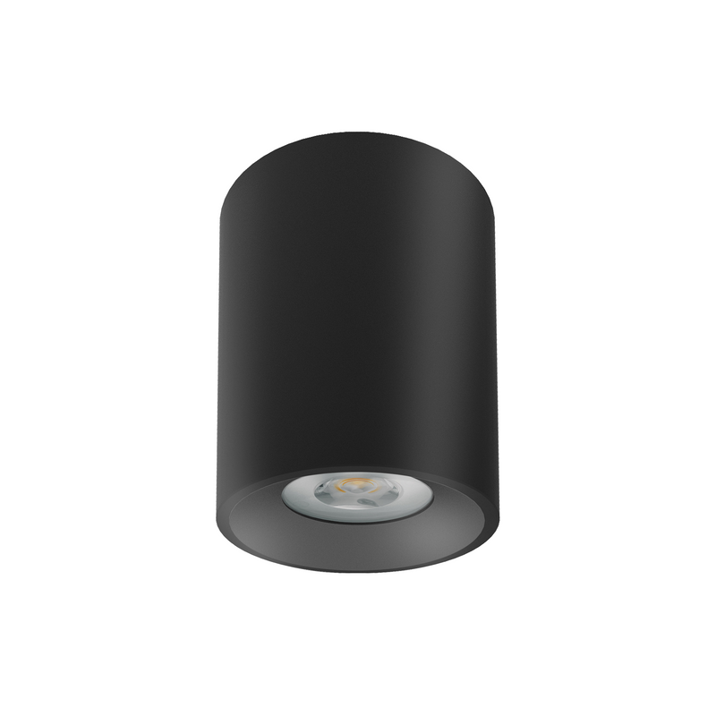 Surface Mounted LED Downlight D550 SH Curve 8.5W in Black or White - crystal-palace-lighting