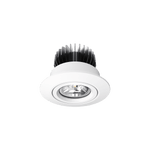 D700 Classic 12W LED Downlight in Silver or White - crystal-palace-lighting