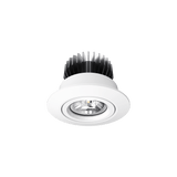 D700 Classic 12W LED Downlight in Silver or White - Crystal Palace Lighting