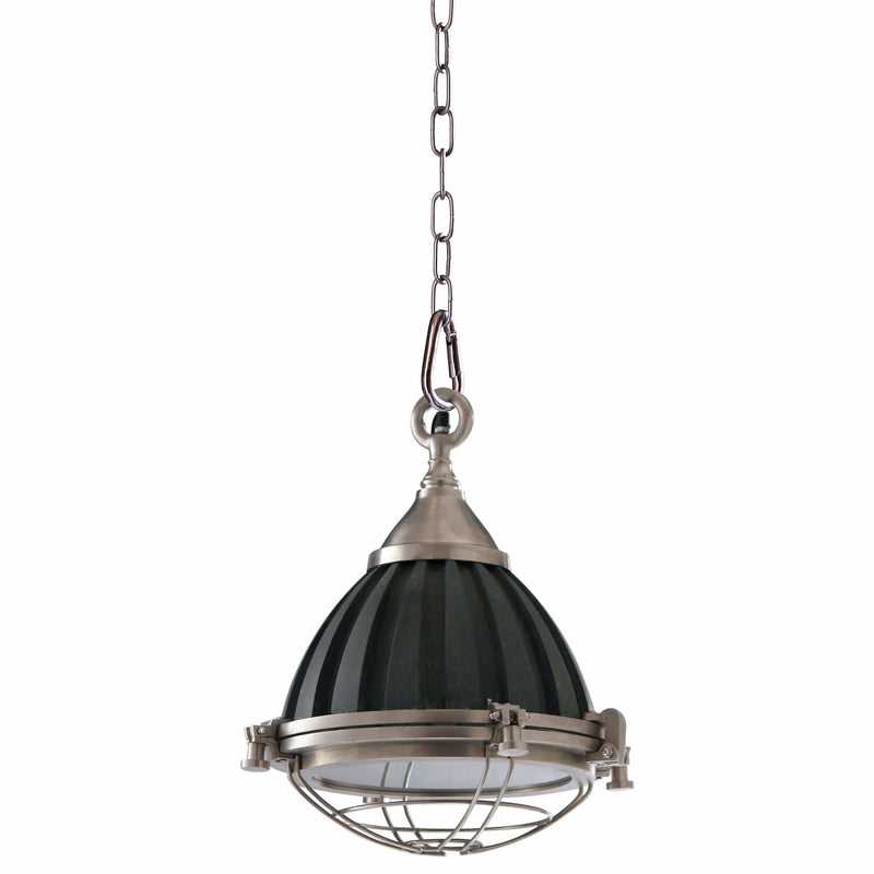 D'Epoca Emporium Pendant, Weathered Nickel Look - Crystal Palace Lighting