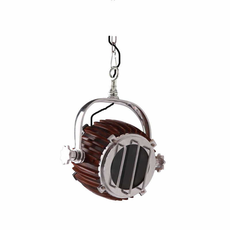 D'Epoca Harbour Pendant in Antique Brown - Crystal Palace Lighting