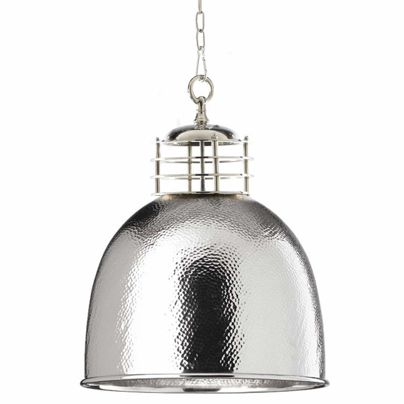 D'Epoca Highbay Pendant in Chrome - crystal-palace-lighting