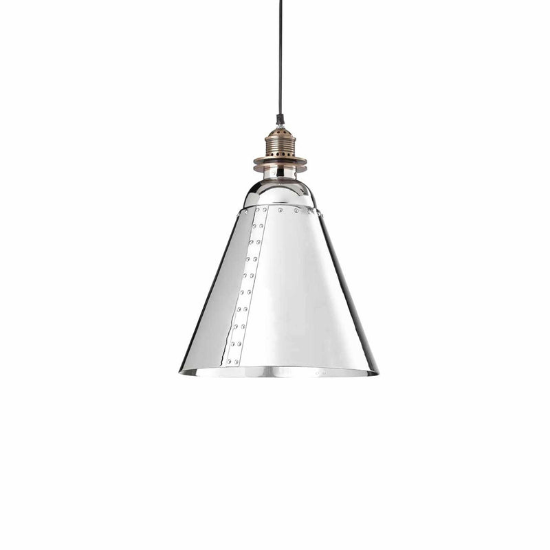 D'Epoca Ironside Pendant, 2 Size Options and 2 Colour Options - Crystal Palace Lighting