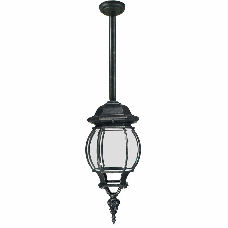 Flinders Exterior Pendant with Rod Set, 2 Colour Options - Crystal Palace Lighting