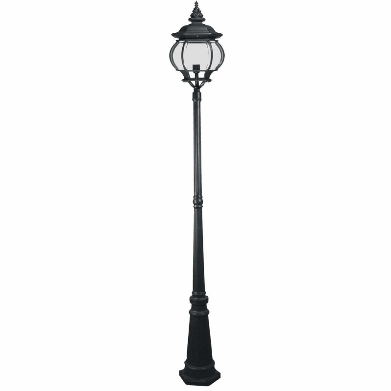 Flinders 3 Piece Lamp Post, 2 Colour Options - Crystal Palace Lighting