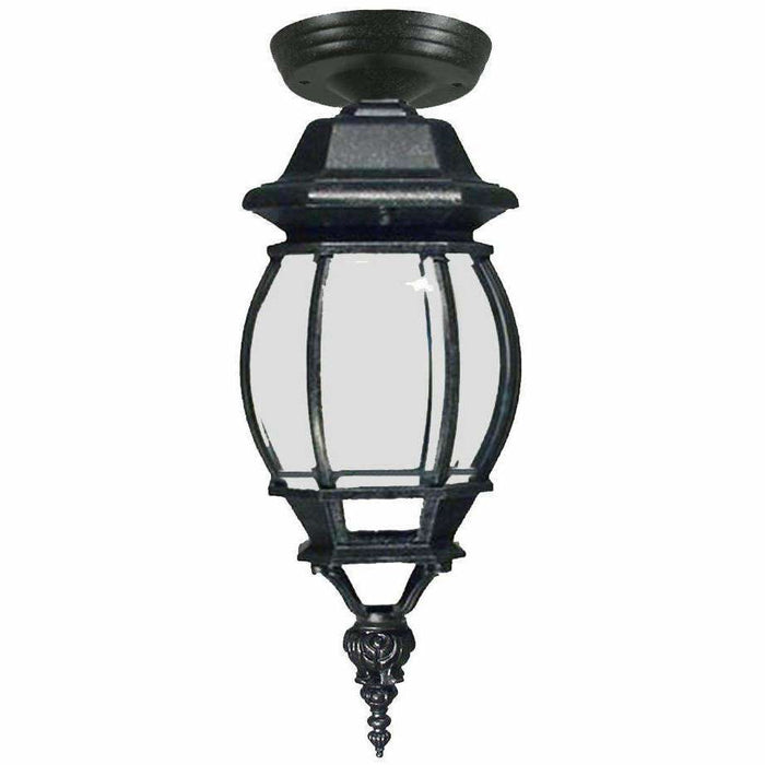 Flinders Exterior Under Eave, 2 Colour Options and 2 Size Options - crystal-palace-lighting