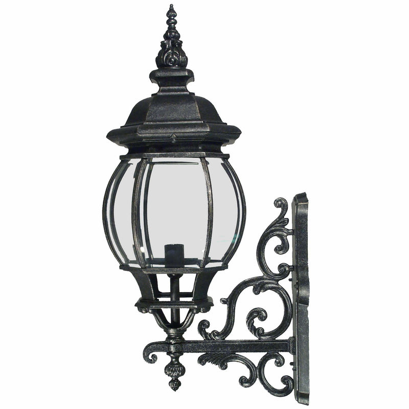 Flinders Exterior Coach Wall Light, 3 Size Options and 2 Colour Options - Crystal Palace Lighting