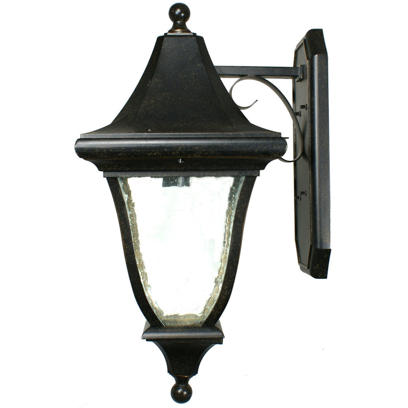 Palladium Exterior Coach Wall Light in Antique Bronze, 3 Size Options - Crystal Palace Lighting