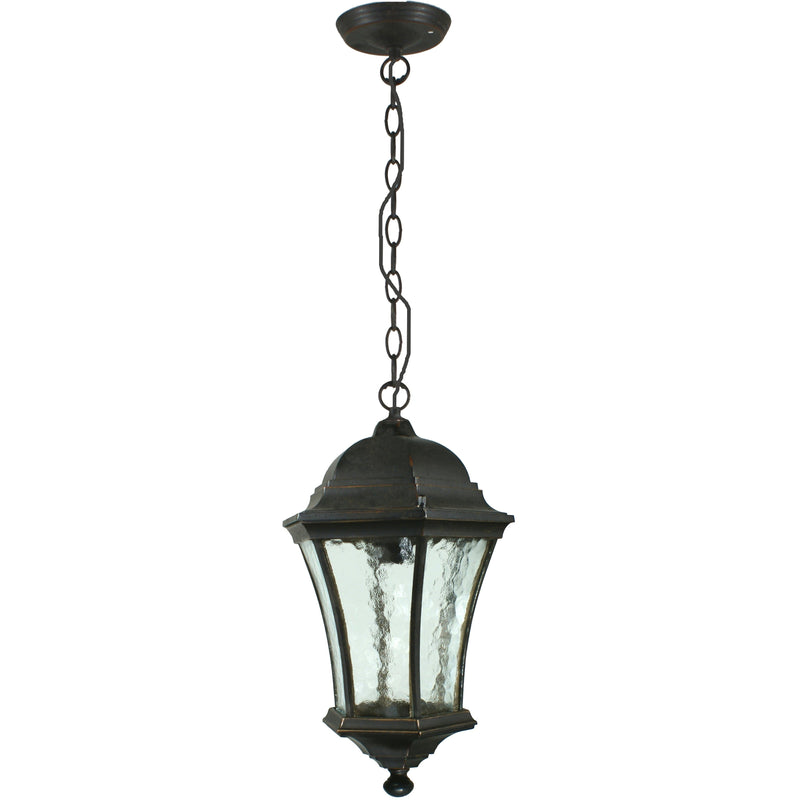 Strand Pendant in Antique Bronze - Crystal Palace Lighting