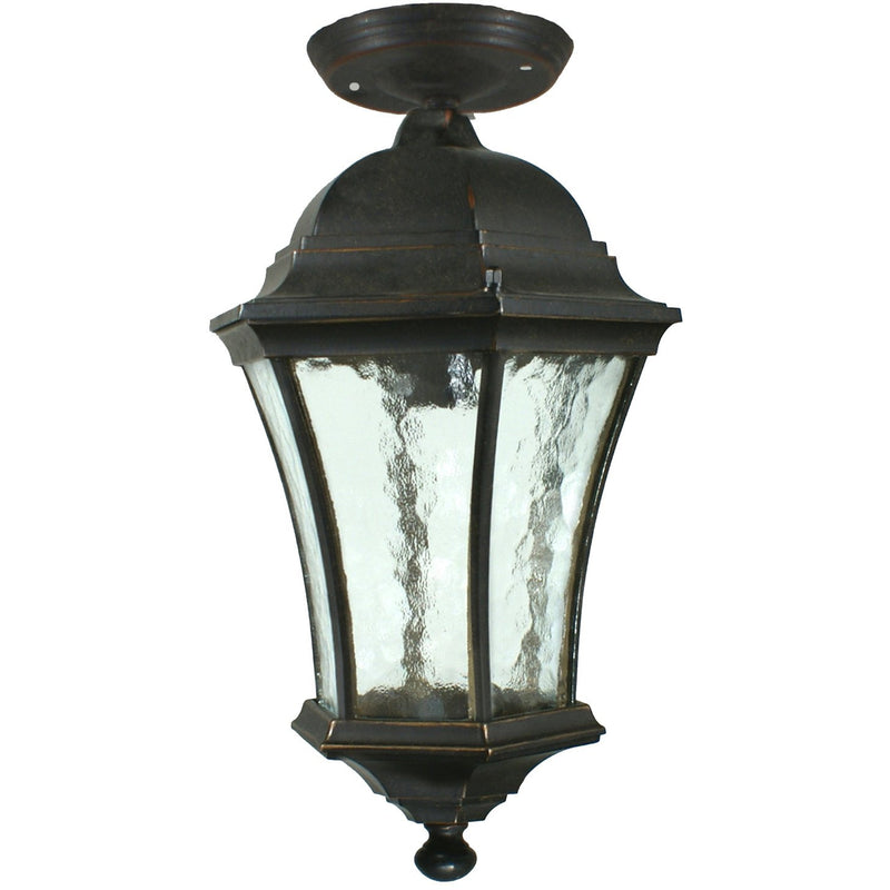 Strand Exterior Under Eave in Antique Bronze, 2 Size Options - Crystal Palace Lighting