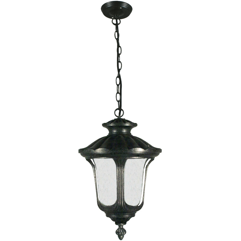 Waterford Pendant in Antique Black - Crystal Palace Lighting