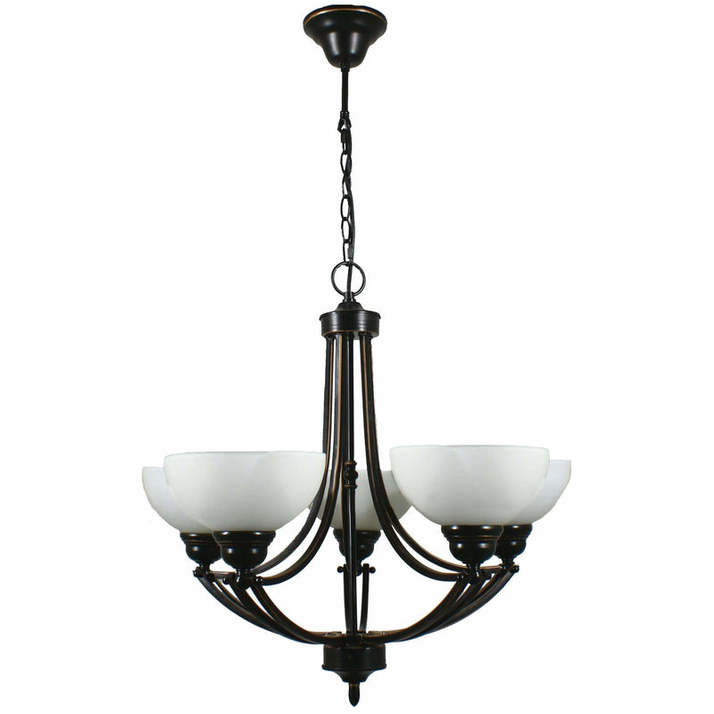 Houston 5 Light Pendant, 2 Colour Options - Crystal Palace Lighting