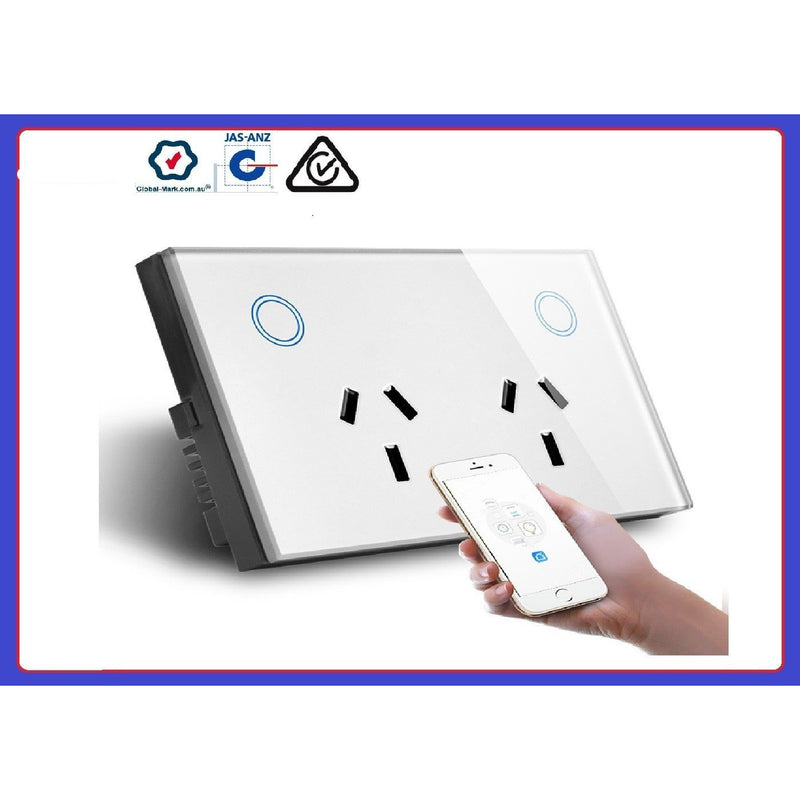 WIFI Double Power Point - Crystal Palace Lighting