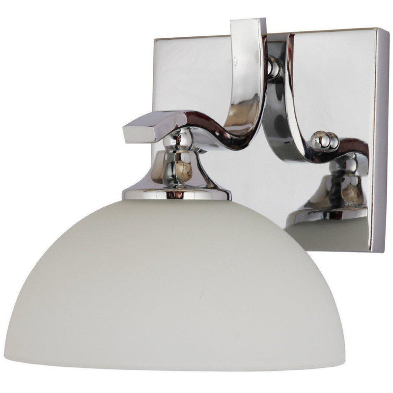 Normandy Wall Light in Chrome - Crystal Palace Lighting