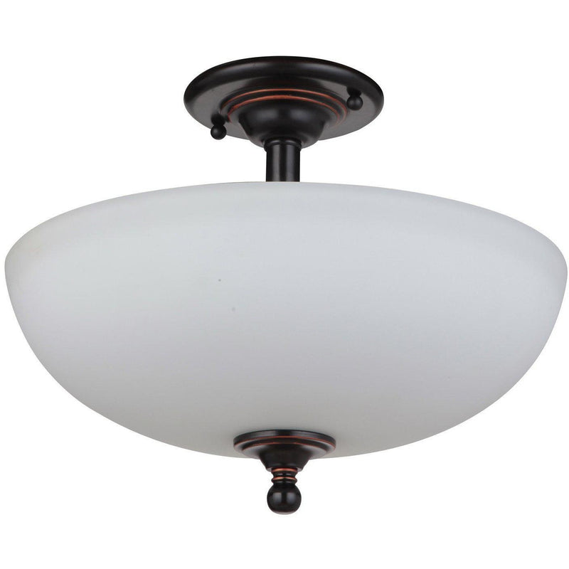 Nova 3 Light Close to Ceiling Light, 2 Colour Options - Crystal Palace Lighting