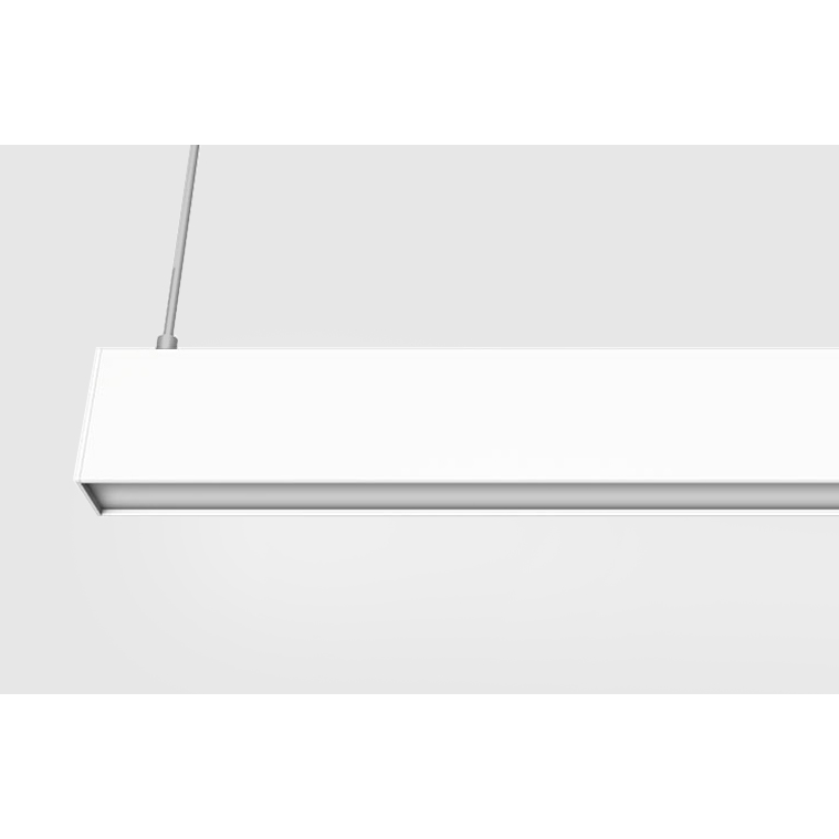 P2000 Linear 26W LED Pendant in Black or White - crystal-palace-lighting