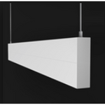 P4000 Linear 52W LED Pendant in Black or White - crystal-palace-lighting