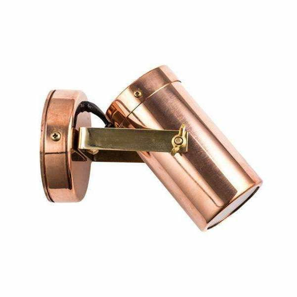 Exterior Copper Wall Lamp - Crystal Palace Lighting