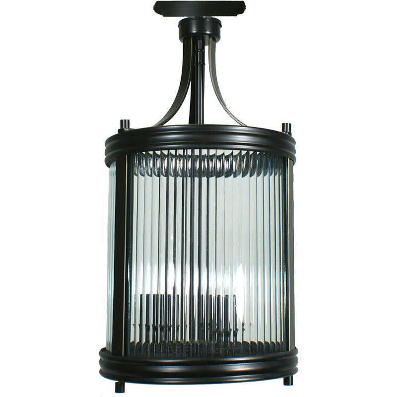 Soisson Close to Ceiling 3 Light, 2 Colour Options - Crystal Palace Lighting