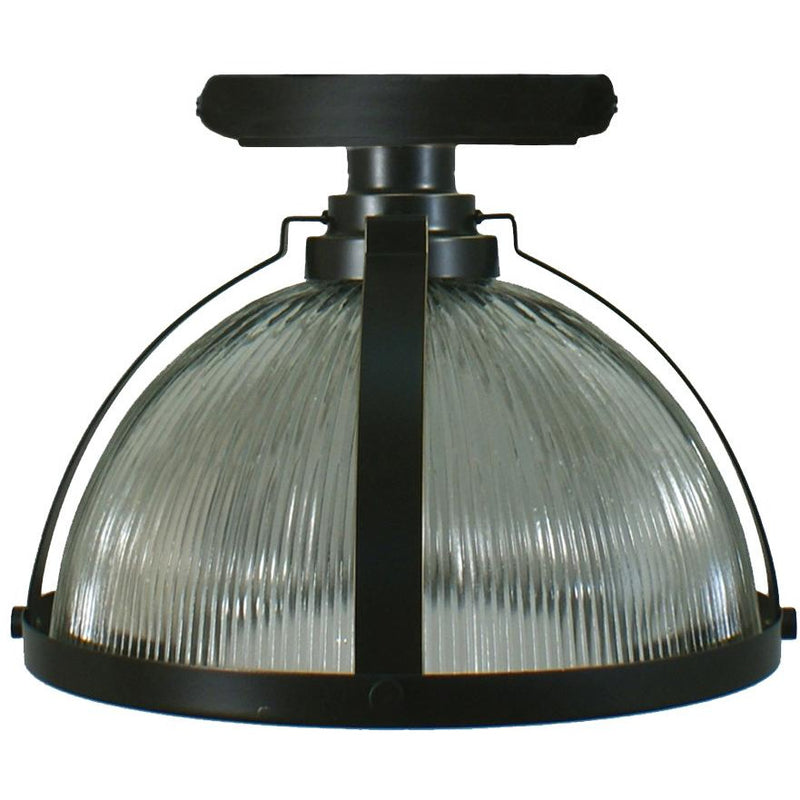 Stockton Close to Ceiling Light, 2 Colour Options and 2 Size Options - Crystal Palace Lighting