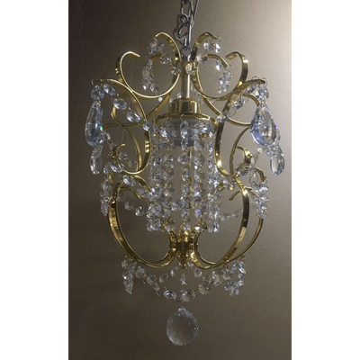 Marchand Isabelle Petite Asfour Crystal Pendant - Crystal Palace Lighting