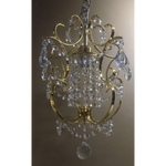 Marchand Isabelle Petite Crystal Pendant - crystal-palace-lighting