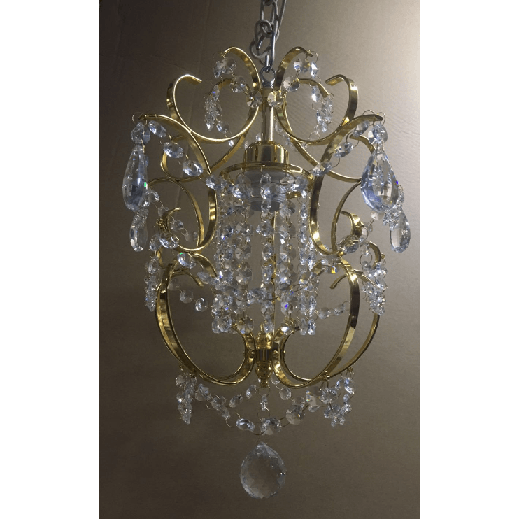 Marchand Isabelle Petite Crystal Pendant - Crystal Palace Lighting