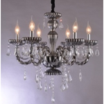 Marchand 6 Light Mavis Crystal Chandelier - Crystal Palace Lighting