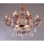 Marchand Alison 12 Light Crystal Chandelier with Asfour Crystal - Crystal Palace Lighting