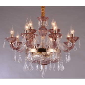 Marchand Alison 12 Light Asfour Crystal Chandelier - Crystal Palace Lighting
